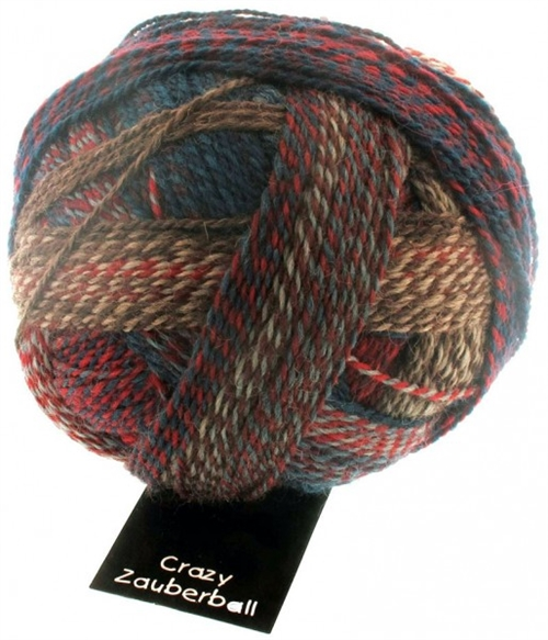 Zauberball Crazy Fv. 1507 Herbstwind