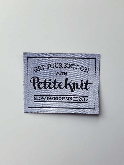 Petite Knit -Label - Get your knit on