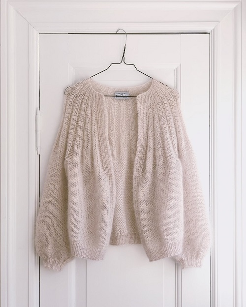 Petite Knit - Sunday Cardigan - mohair edition