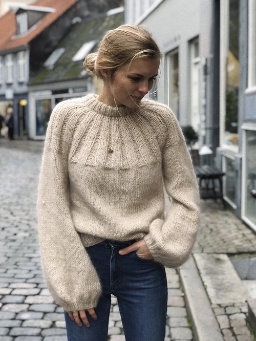 Petite Knit - Sunday Sweater