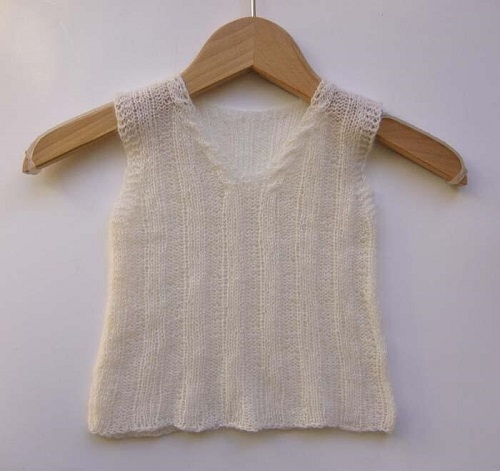 Cashmere Lace -  Baby undertrøjer