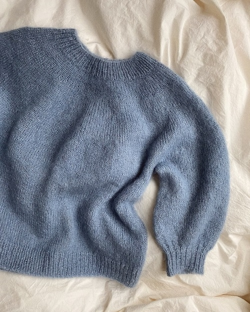 PetiteKnit - Novice Sweater - mohair edition