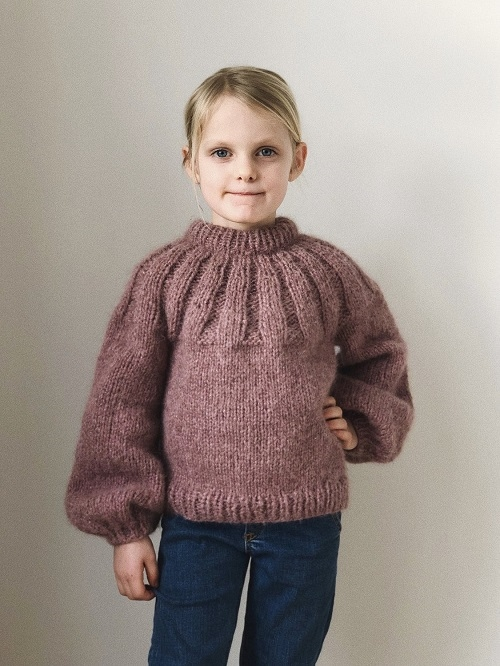 Petite Knit - Sunday Sweater Junior
